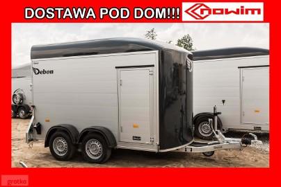 17.177 Przyczepa Debon C 300 ALU z drzwiami bocznymi kontener furgon bagażowa uniwersalna Cheval Liberte nowe przyczepy Nowim