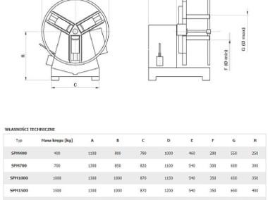 Odwijak-nawijak-rozwijak z napędem do taśmy stalowej SPM-700-2