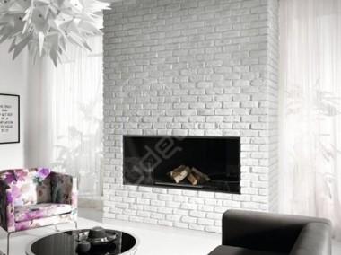 Cegła z fugą, Panel 3D, Kamień Ozdobny na Ściany Wewnętrzne - KOMINKI-1