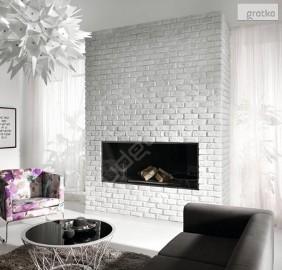 Cegła z fugą, Panel 3D, Kamień Ozdobny na Ściany Wewnętrzne - KOMINKI