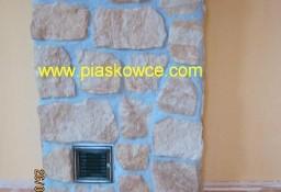 Kamień piaskowiec elewacyjny dekoracyjny ozdobny płytki elewacyjne mur
