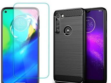 Etui+ szkło do Motorola Moto G8 Power-1