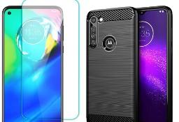 Etui+ szkło do Motorola Moto G8 Power