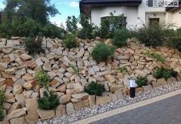 Kamień ogrodowy do ogrodu płaski na  piaskowiec skarpy naturalny płaski