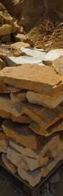 Kamień ogrodowy do ogrodu płaski na  piaskowiec skarpy naturalny płaski -3