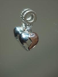 Pandora Charm zawieszka serce otwierane kluczyk love miłość