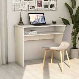 vidaXL Biurko, białe, 90x50x74 cm, płyta wiórowa801170