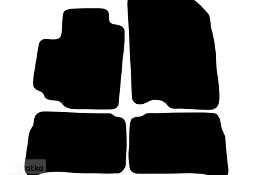 SUZUKI VITARA HYBRID od 01.2020 r. do teraz najwyższej jakości dywaniki samochodowe z grubego weluru z gumą od spodu, dedykowane Suzuki Vitara