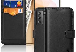 Etui Hivo Dux Ducis skórzane z klapką do Samsung Galaxy S21 5G czarny