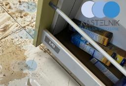 Dezynfekcja, sprzątanie po zalaniu Nysa - Kastelnik mycie po wybiciu kanalizacji