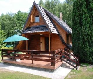 Sport i rekreacja Ińsko Domek nad jeziorem -W Ińskich Parkach Krajobrazowych.