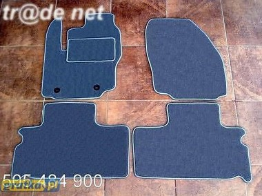 Ford Galaxy od 2010 do 2015 r. DUŻY WZÓR 2 rzędy najwyższej jakości dywaniki samochodowe z grubego weluru z gumą od spodu, dedykowane Ford Galaxy-1