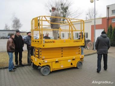 Kurs podest ruchomy zwyżka lift podnośnik koszowy Grudziądz Toruń-1