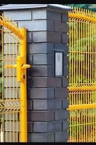 Brama przesuwna posesyjna wzór wypukły 150x400cm-2