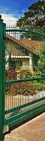 Brama przesuwna posesyjna wzór wypukły 150x400cm-4