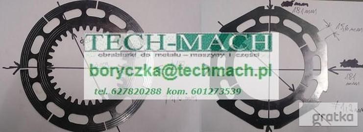 Sprzęgło EKR40, płytki sprzęgłowe EKR40 tel. 601273539
