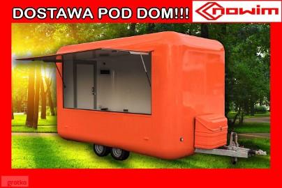 25.18.903 SIGMA Nowim Przyczepa gastronomiczna kontener izoterma izolowana handlowa wystawowa targowa ekspozycyjna eventowa food truck ...