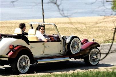 Samochód do ślubu Auto na wesele RETRO Limuzyny ślubne NESTOR Baron
