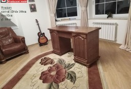 Biurko Dustronne Gabinetowe Biuro StyLowe Bekas Dąb Rustkalny