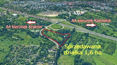 Działka inwestycyjna Chrzanów, ul. Balińska