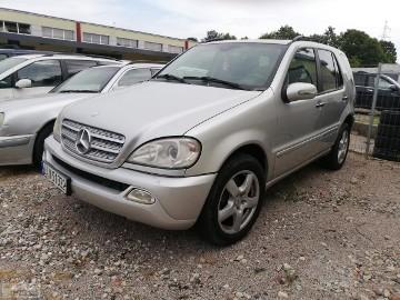 Mercedes-Benz Klasa ML W163 2001r 4.0D 250KM Klima Możliwa Zamiana 4X4