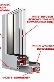 OKNA okno PCV EkoSun Plastikowe 1465 x 1435 WYCENA GRATIS !!!-2