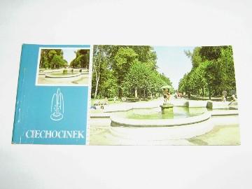 Karnet 6 pocztówek Ciechocinek PRL