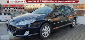 Peugeot 407 1.8 125 KM B+GAZ nawigacja climatronic gwarancja