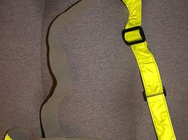 Pas odblaskowy żółty-1