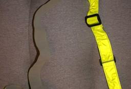 Pas odblaskowy żółty