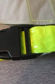 Pas odblaskowy żółty-2