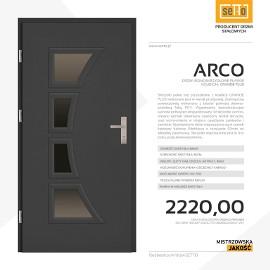 Drzwi wejściowe stalowe SETTO model ARCO PLUS