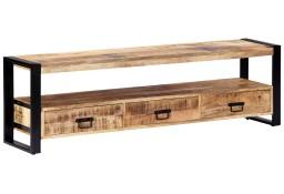 vidaXL Szafka pod telewizor, 150 x 30 x 45 cm, lite drewno mango247906