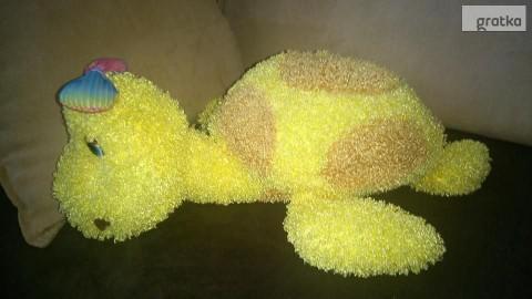 maskotka pluszak żółw zabawka pluszowa