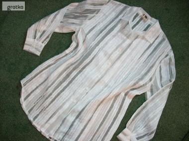 Koszula Tunika Szyfon PASKI j NOWA 44 46 XXL-1