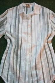 Koszula Tunika Szyfon PASKI j NOWA 44 46 XXL-2