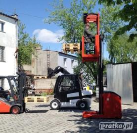 Kursy na wózki wysokiego składowania - Sieradz, Łódź.
