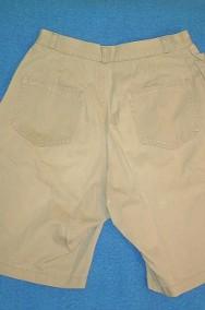 Krótkie spodnie, męskie - khaki.-2
