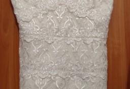 (42/XL) RIVER ISLNAD/ Koronkowa sukienka wieczorowa/ sukienka na ślub/NOWA