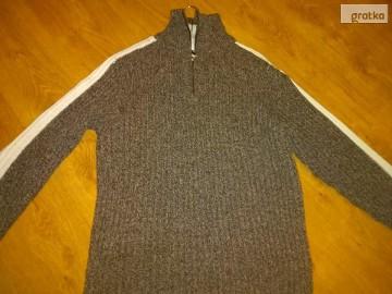 Swetr gruby męski