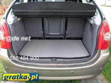 Audi A2 HB od 1999 najwyższej jakości bagażnikowa mata samochodowa z grubego weluru z gumą od spodu, dedykowana Audi A2