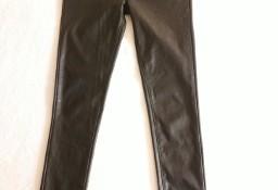 Spodnie z eco skóry  S  elastyczne