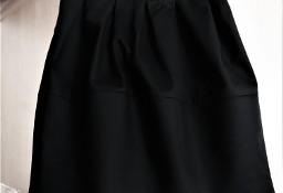 Czarna spódniczka z zakładkami  34  H&M