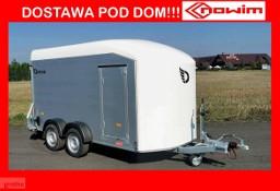 17.187 Nowim Debon Cheval Liberte C 700 C700 przyczepa kontener furgon do przewozu quadów motorów motocykli ciężarowa hamowana DMC ...