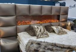 Łóżko z kominkiem , sypialnia Młoda Para, gorące łóżko,   HIT