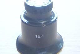 Lupa do oka (zegarmistrzowska) o powiększeniu 12x