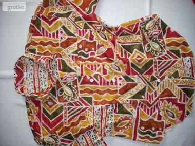 TRUE Przewiewna Koszula Aztek Tropik Bawełna 38 40-1