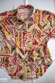 TRUE Przewiewna Koszula Aztek Tropik Bawełna 38 40-2