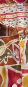 TRUE Przewiewna Koszula Aztek Tropik Bawełna 38 40-3