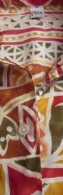 TRUE Przewiewna Koszula Aztek Tropik Bawełna 38 40-4
